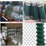 Chain link fence/pvc coated chain link fence/fence wire material