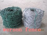 Barbed wire, galvanized bared wire , pvc coated barbed wire