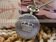 Free Shipping Fashion Crown Pocket Watch Best Watches Online