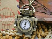 Free Shipping:New Cute Robot Design Pocket Watch Best Watch