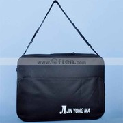 Free Shipping Fashionable Black Shoulder Bag Laptop Bag