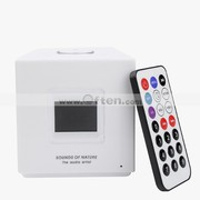 Free Shipping:2GB MP3 Musical Alarm Clock Remote control FM Speaker