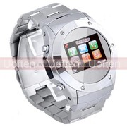 Free ShippingWrist Watch Cell Phone Touchscreen Mobile Mp3/4 FM Camera