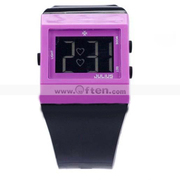 JULIUS Square LED Electronic Digital Wrist Watch