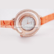 Free Shipping:Julius 6724 Concise Style Ladies Quartz Wrist Watch