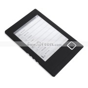 Free Shipping:4GB 6 Inch Portable Digital E-Book Reader MP3 Player