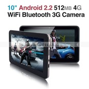10 Inch Android 2.2 Resistive Touch Screen Tablet PC 512MB 4G WiFi 3G