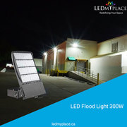 Use 300W LED Flood Lights For Indoor as Well as Outdoor Lighting